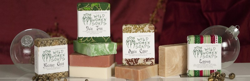 the HOLIDAY soaps (Oct-Dec only)