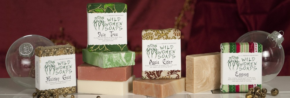 the HOLIDAY soaps